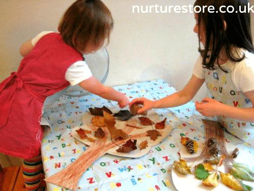 toddler autumn tree craft