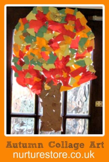 Autumn Tree Collage Nurturestore