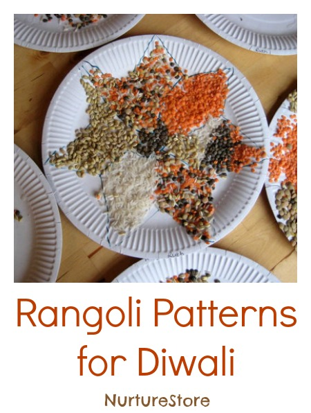 Gorgeous diwali rangoli patterns for kids