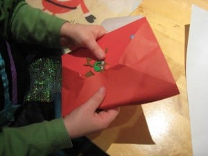 fitting into envelope