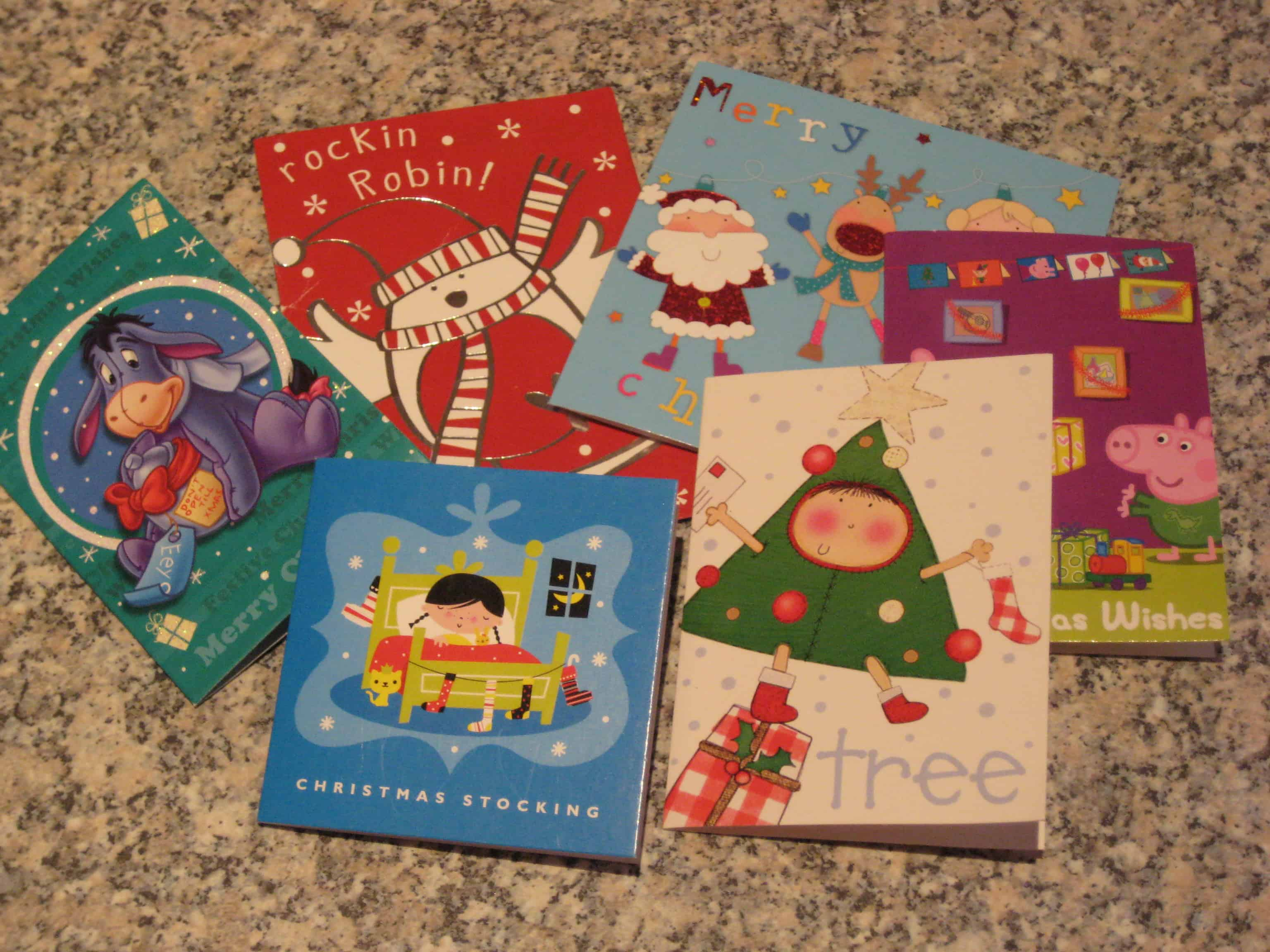 Recycle your Christmas cards - make a jigsaw and a memory game ...