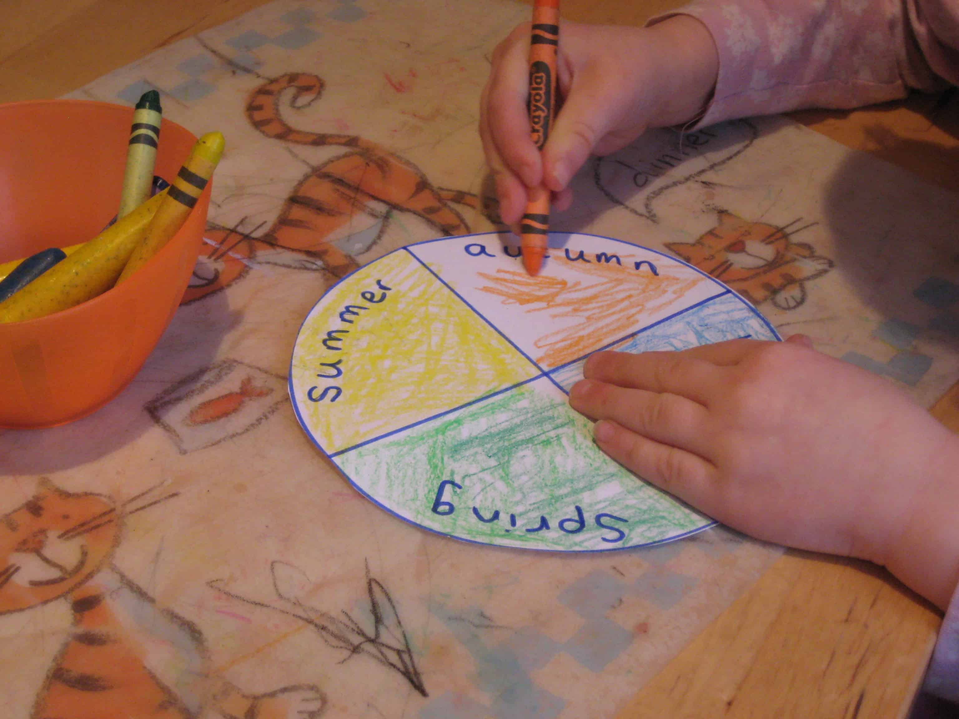 New Year Calendar Craft : New year crafts and activies