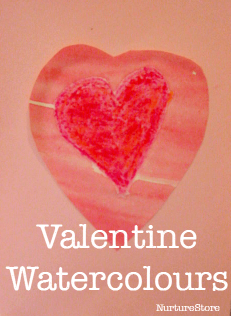 valentine painting activity