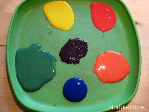 st patricks day rainbow craft
