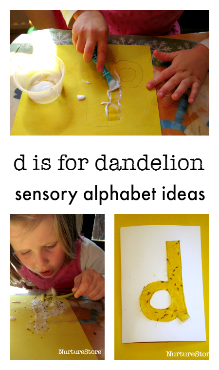 letter of the week sensory alphabet ideas