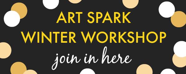 join art spark winter workshop