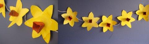 spring crafts daffodils