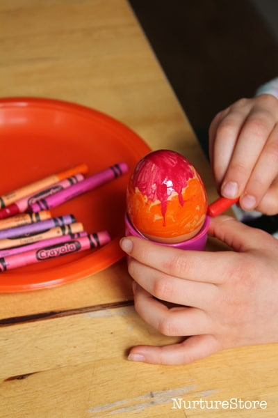 easy Easter egg decorating