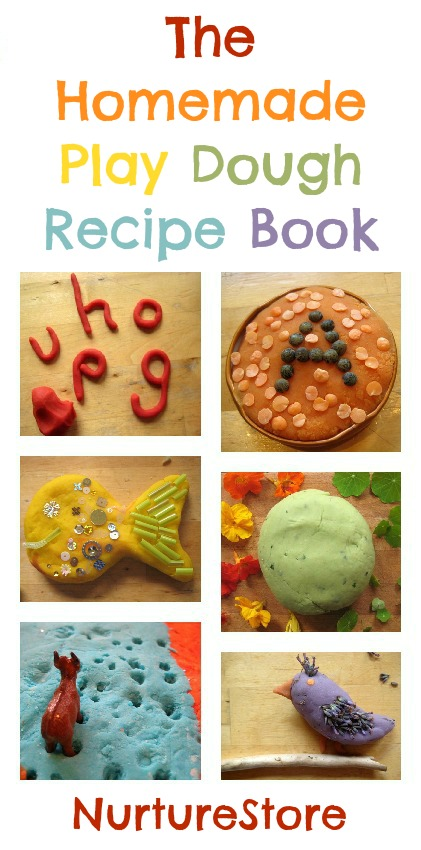 The Homemade Play Dough Recipe book : recipesa dn ideas for a whole year of play