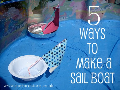how to make a toy sailboat