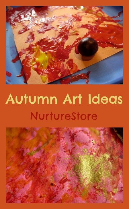 Gorgeous autumn art!