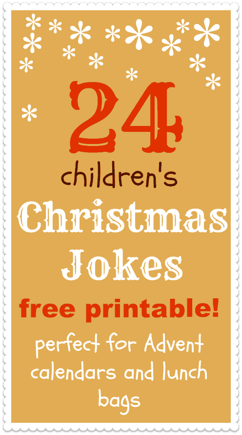 Christmas Jokes For Kids Printable