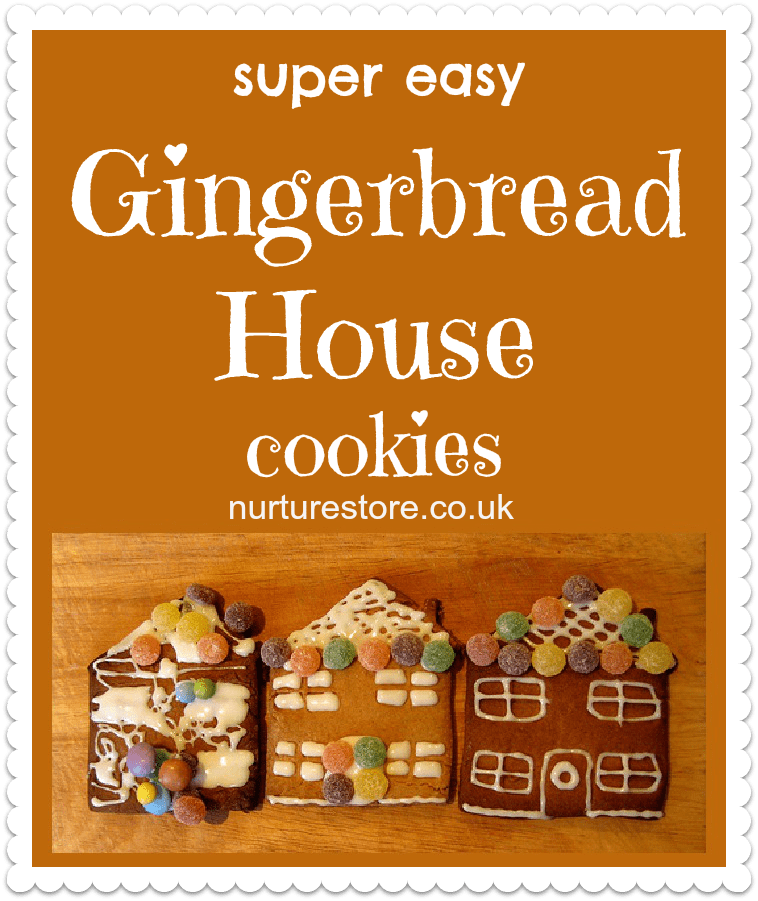 Simple Gingerbread House Recipe: Gingerbread Houses For Children