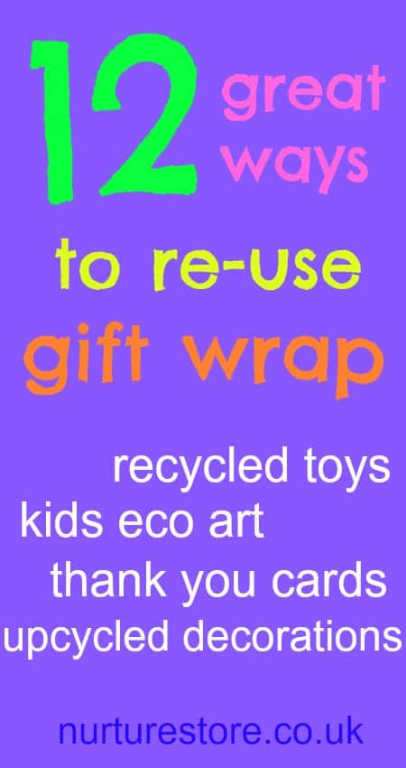 reuse gift wrap