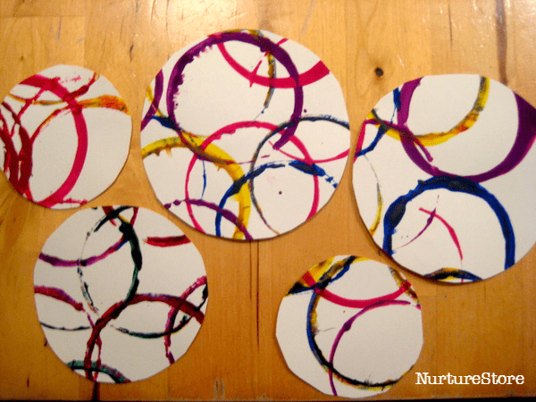 simple wreath craft for kids
