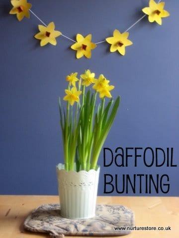 st davids day daffodil craft
