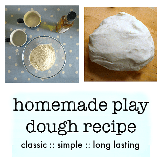 classic easy play dough recipe no cook