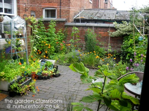 Pics for very small gardens for Very small garden