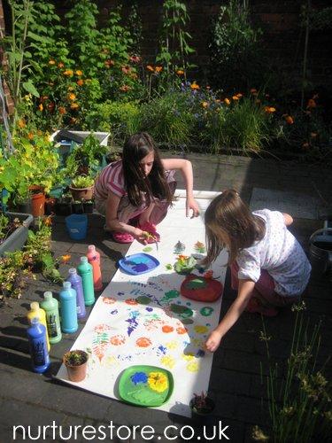 Small family gardens for Family garden designs