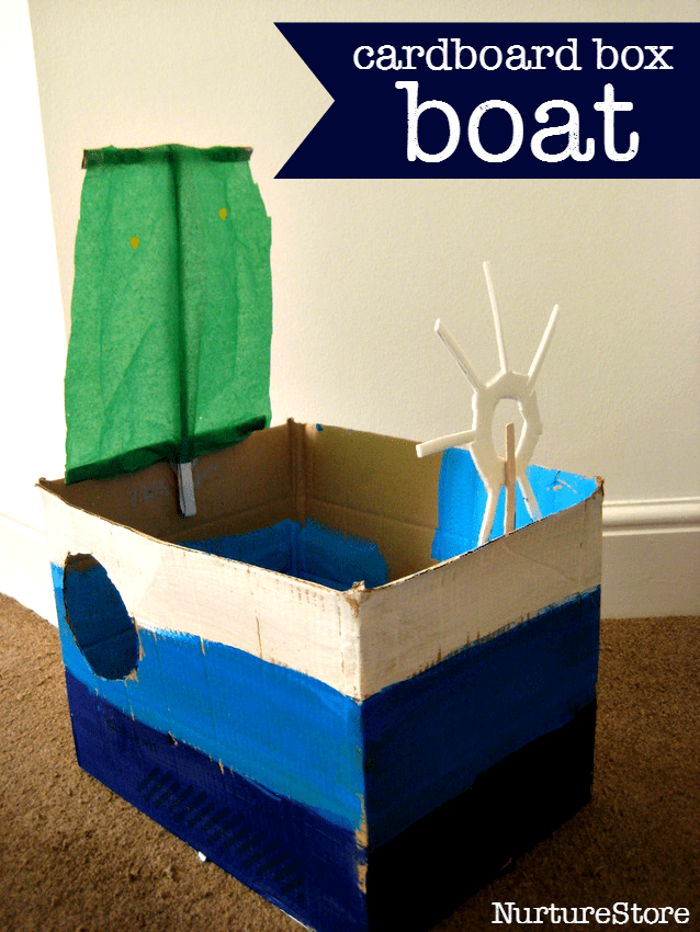 Be a sailor make a boat for How to make a cardboard box car that moves