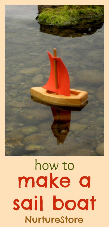 How to make a sail boat - three great ways!