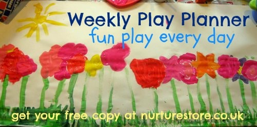 Sign up for a weekly kids activities planner