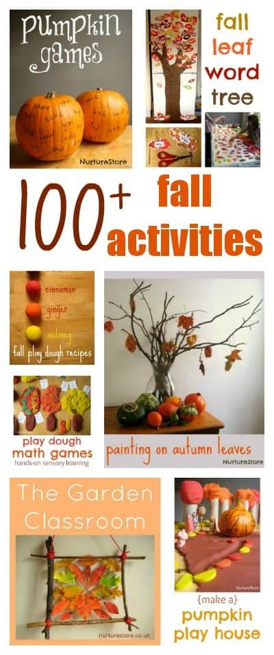 100 Autumn And Halloween Activities For Kids Nurturestore