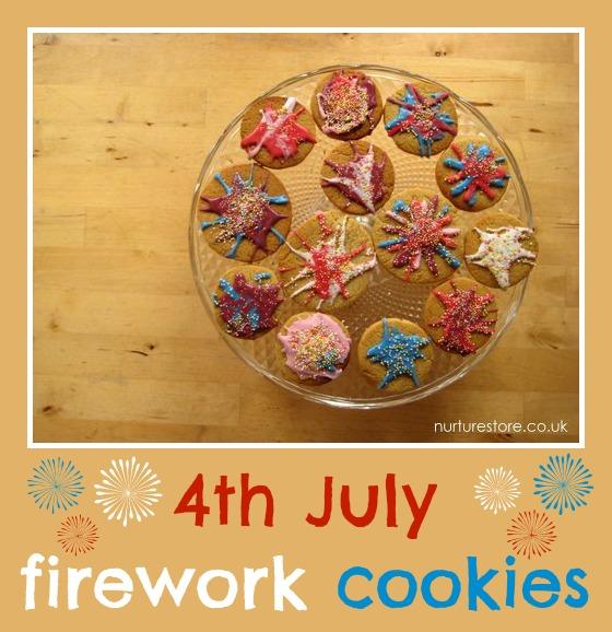 Whizz, pop, bang! Gorgeous firework cookies!