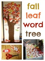 sight word activity for fall
