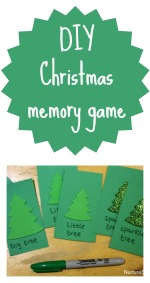 diy christmas memory game 150