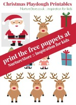father christmas puppet printable 15