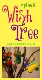 new year wish tree
