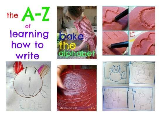 a-z how to write