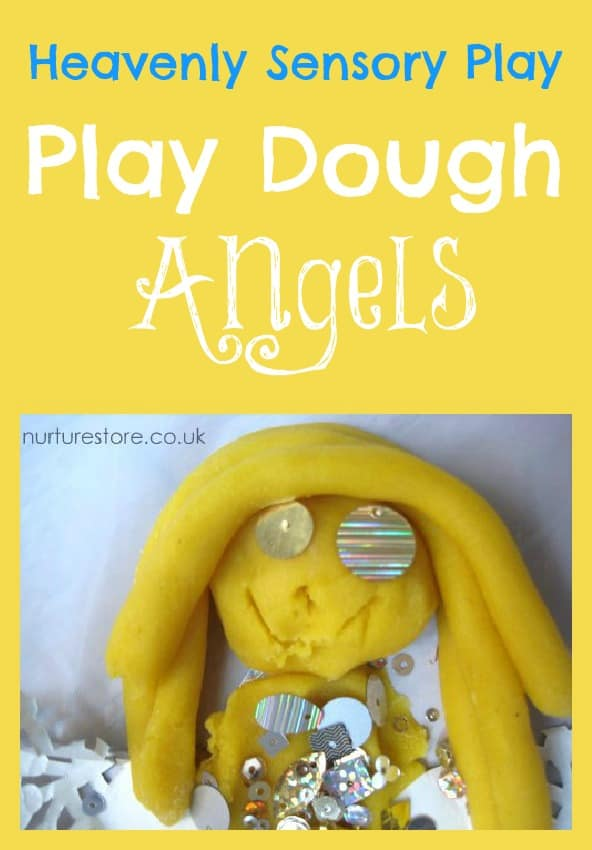 play dough angels