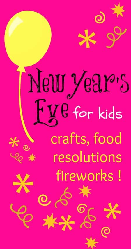 Resolutions and fireworks :: New Years Eve for kids ...