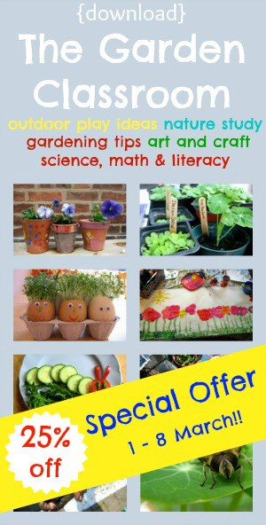 play outdoors kids gardening activities