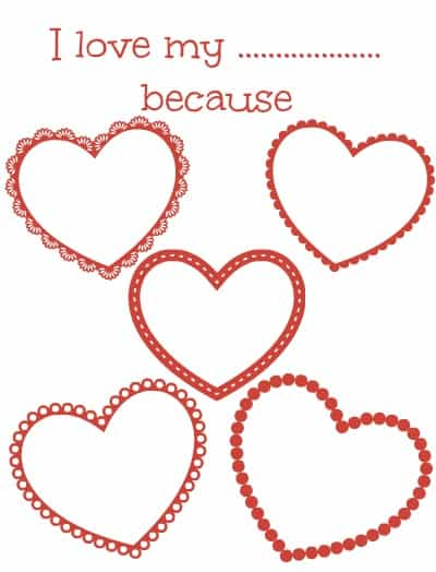 coloring pages valentines i love 400