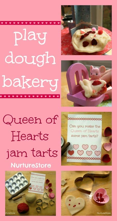 play dough recipe valentine messy play
