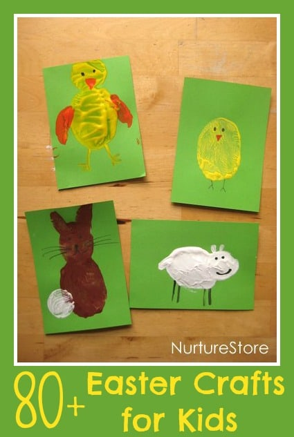 craft activities for children easter potato printing