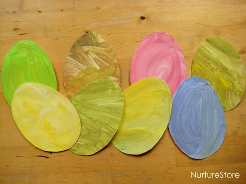 easter crafts painting