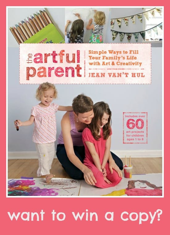 The Artful Parent_ Cover pin