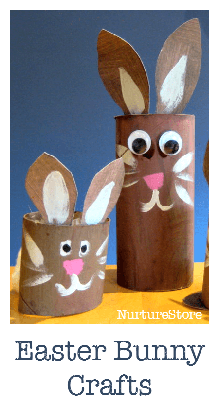 Easy Easter bunny craft