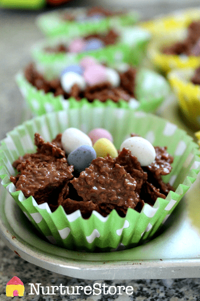 easter nest cake recipe