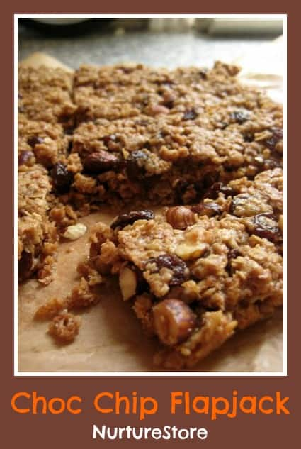 simple recipe for kids flapjack