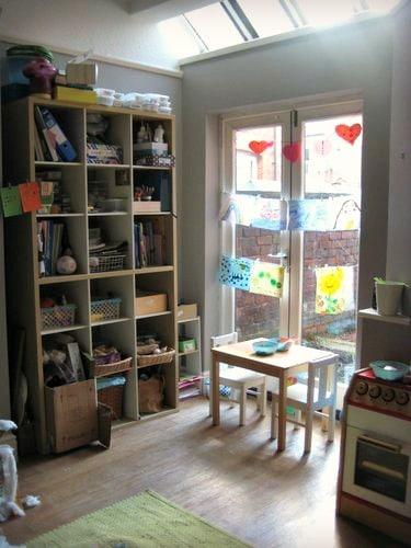How to organize kids craft supplies 1