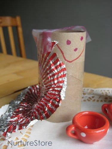 kids crafts puppets