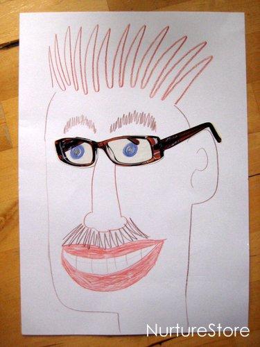 Kids Art Cut Stick Draw Challenge NurtureStore