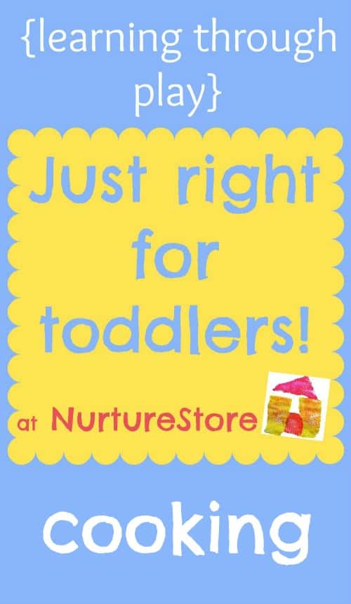 activities for toddlers cooking