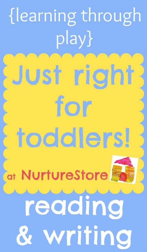 activities for toddlers reading and writing