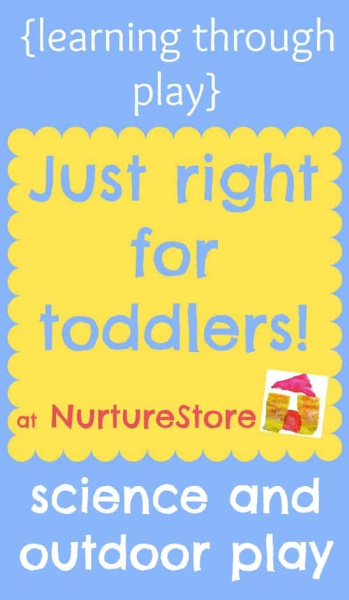 activities for toddlers science